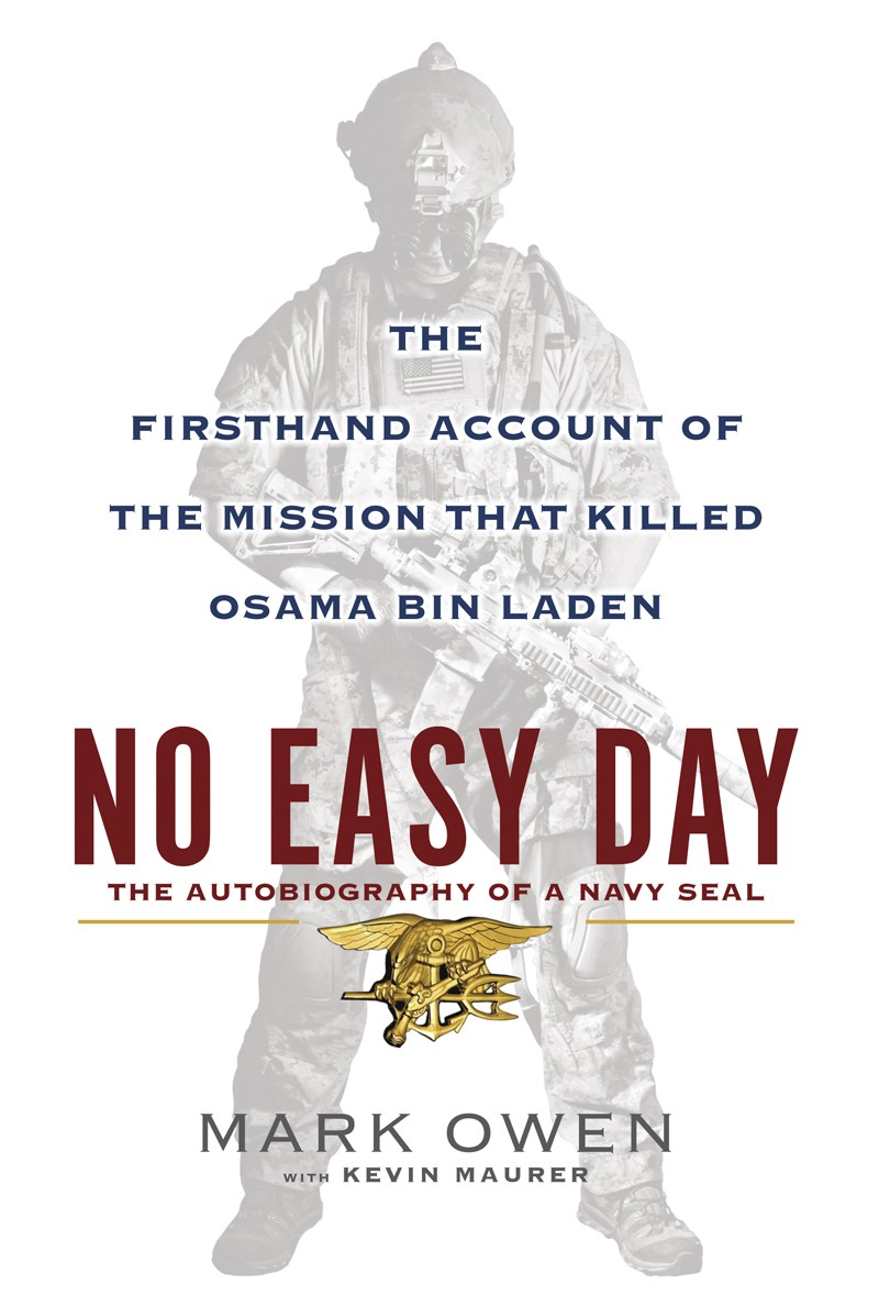 Mark Owens NO EASY DAY — Barnes & Noble cant keep it